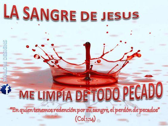 La sangre de Jesus