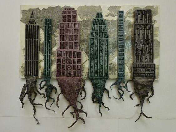 """Rooted in another Place""  Mixed Media  2009  Joshua Eastman"