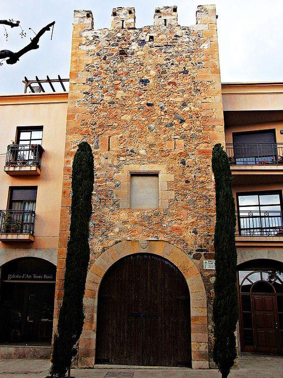 Tarragona Torres de la muralla i muralla de Sant Rafel (La Selva del Camp)