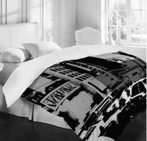 NY Street Duvet Cover by DENY designs