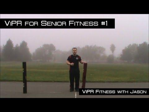 Vipr For Senior Fitness 1 Youtube Senior Fitness Senior Activities Stretching For Seniors