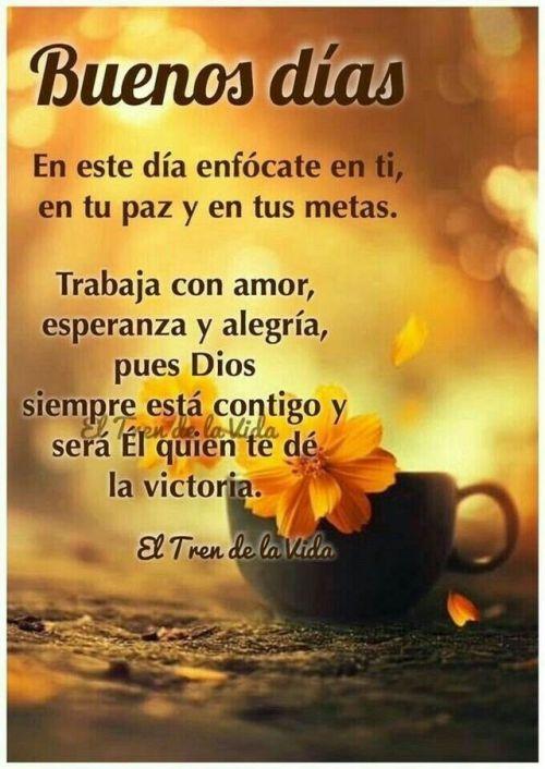 Buenos Dias Para Enviar Http Videowhatsapp Net Buenos Dias Para Enviar 607 Html Vwhatsapp Buen Good Morning Greetings Good Day Wishes Good Morning Prayer