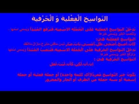 الن واس خ ال ف ع لية و ال ح ر فية Youtube