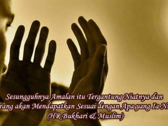 Inilah Arti Niat dalam Ajaran Islam