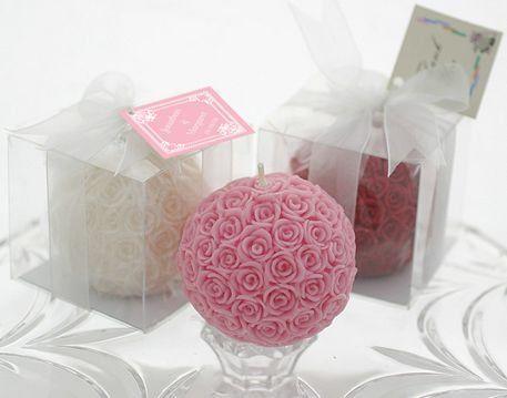 Une jolie idée pour le cadeau aux invités (duo rose & blanc)