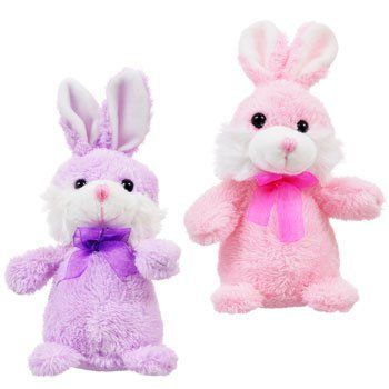 Set+of+2+Easter+Plush+Bunnies+Brand+New+with+tags+Purple+Pink+Rabbits
