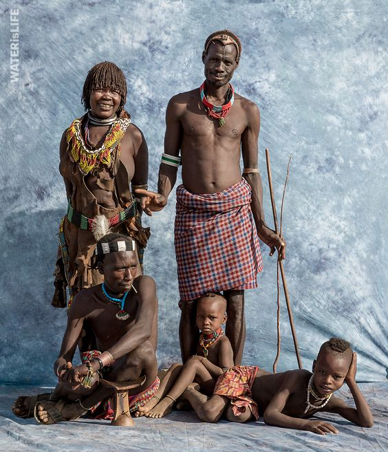 Families In Ethiopia Pose For Sears-Style Photos To Raise Awareness For Important Issue