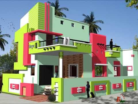 Front Elevations For House Youtube Small House Exterior Colors