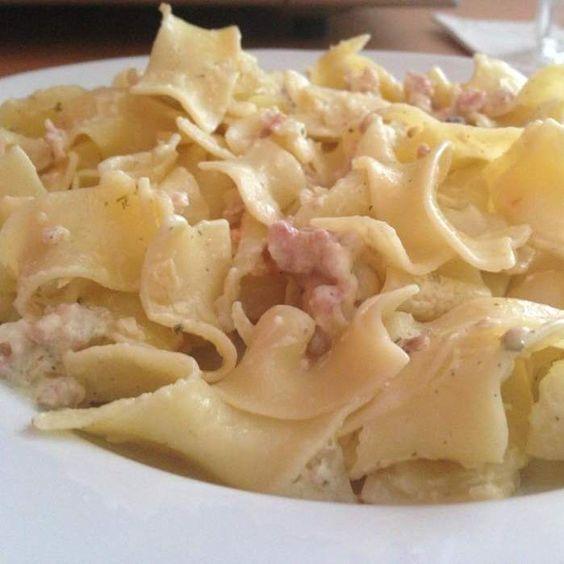 Rezept Nudeln mit Speck und Käse von Miml88 - Rezept der Kategorie sonstige Hauptgerichte