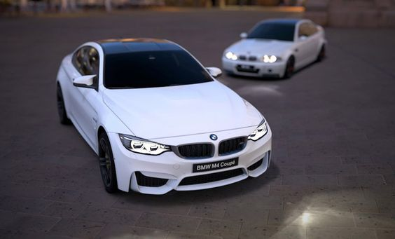 BMW M4 F82 in Alpine White.  Auto accessories for any auto models - http://autox1.com  #bmwm4 #f82