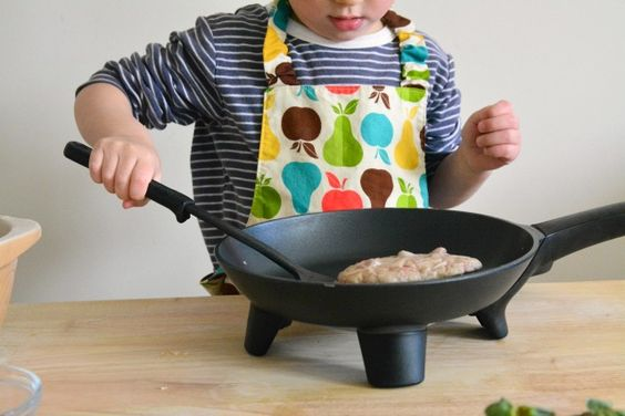 Perhaps learn to cook with heat at three years at How we Montessori