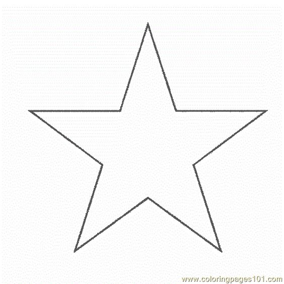 Free Printable Star Shapes | Shape Star Coloring Pages 7 Com ...