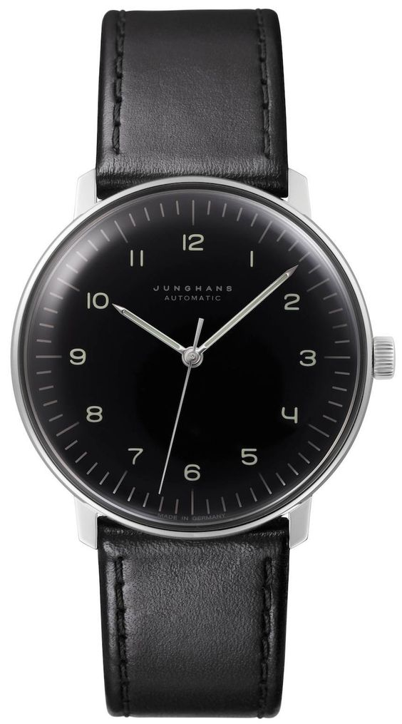 """Bauhaus Style: New Junghans Max Bill Watches - by Victor Marks - read more and see the variations on aBlogtoWatch.com """"Junghans has announced new additions to the Max Bill by Junghans collection... Historically, the Junghans Max Bill three-hand watches have always been either manually wound or available in quartz movements... This is pretty much the best of both worlds: a reliable automatic movement with the understated elegance of German design..."""""""