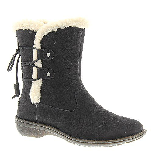 UGG Australia Women's Akadia Sheepskin Winter Boot Black 9 M US ** Want to know more, click on the image.