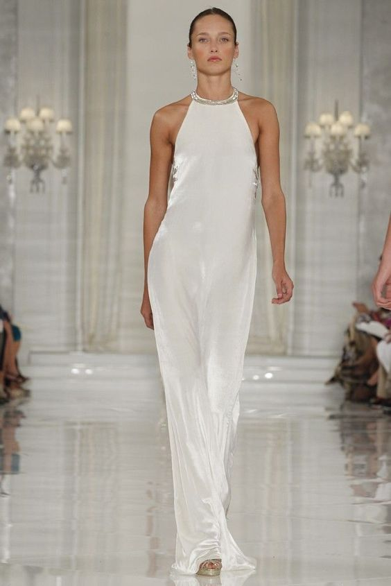Nice dress if you\u0026#39;re an woman of a particular age ralph lauren beach wedding