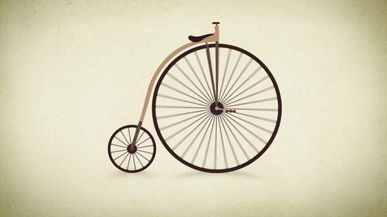Evolution of the Bicycle. The evolution of the bicycle told with animation all the way from the wooden horse to the modern racer.