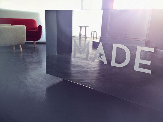 It's coming........the MADE.COM Showroom. #ldf2012