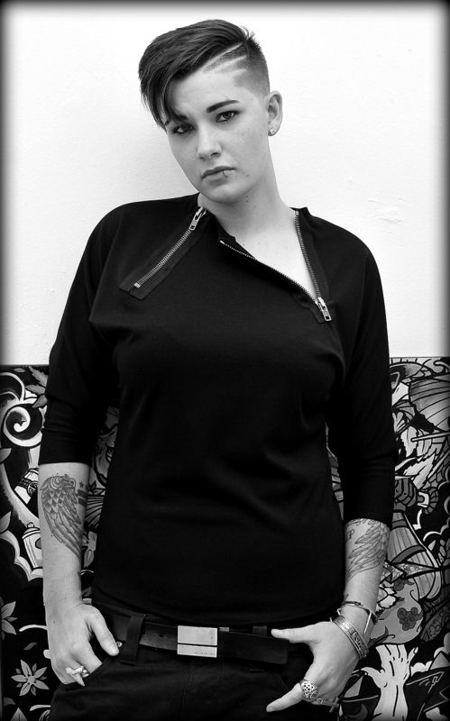 5008 Ashley Kolodner #womenofnewyork #lesbian #lgbt #fashion #queergirls #androgynous #blackandwhite #photography #lesdowntown