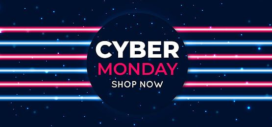 Promotion Illustration Sale Cyber Special Technology Banner Neon Business Monday Vector Design Promo Retail Holiday In 2020 Sale Poster Light In The Dark Event Poster