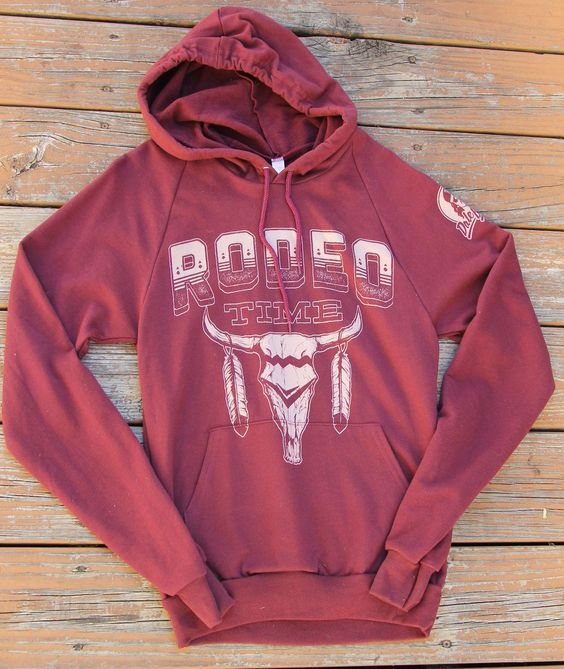Rodeo Time Hoodie - Southern Jewlz Online Store