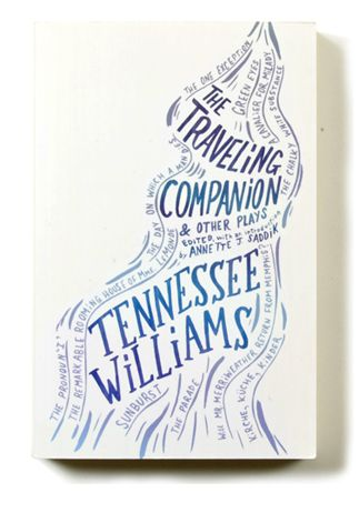 The Traveling Companion cover illustrated by Joel Holland for New Directions; art directed by Rodrigo Corral