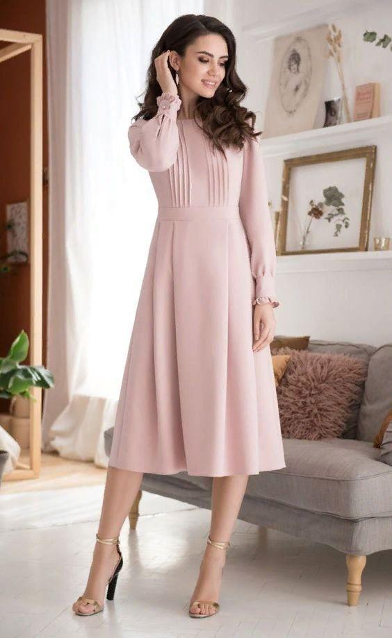 Обаятельна и привлекательна: элегантные платья на каждый день | Новости моды