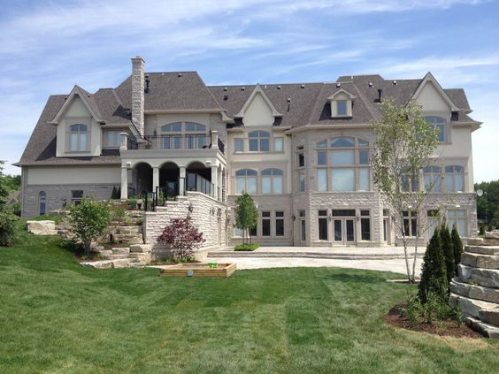 Custom built homes canada and building on pinterest for Dream homes canada