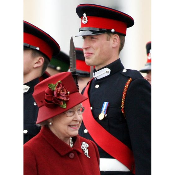 This photo shows the current Queen of the Commonwealth walking past the future King - her Grandson, and she just looks like any proud Grandma would. Gotta love that!: Queen Elizabeth, Favourite Royal, Prince Sweet, British Royalty, Amazing Queen