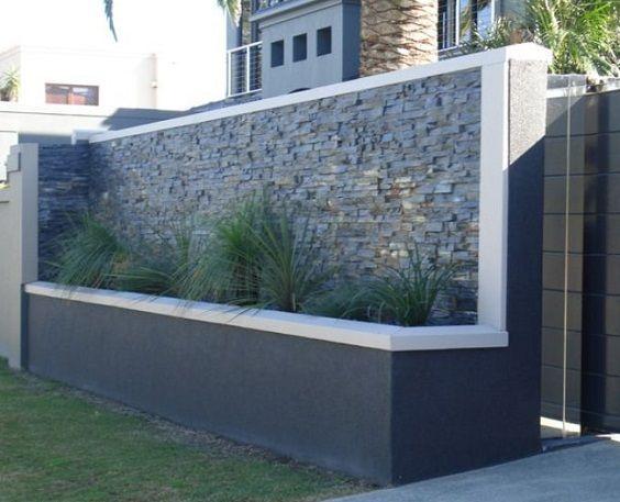 25 Best Concrete Fencing Design Ideas For Backyard Remodeling