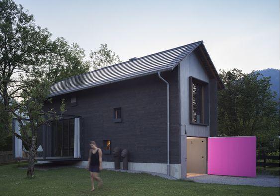 Minihaus in Bayern / Alpendatscha - Architektur und Architekten - News / Meldungen / Nachrichten - BauNetz.de