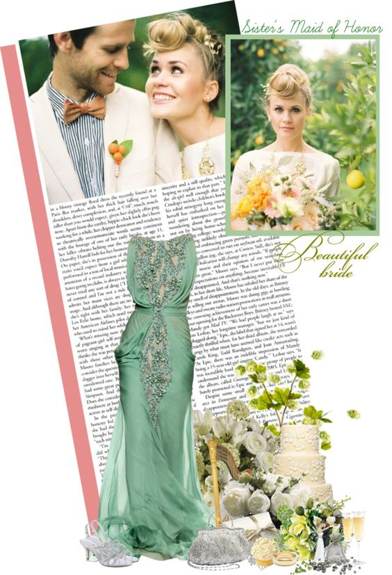 """""""#10 Attending your sister's wedding as her maid of honor"""" by always-a-dreamer ❤ liked on Polyvore"""