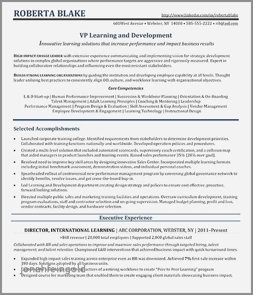 65 Awesome Photos Of Sample Resume For Revenue Manager
