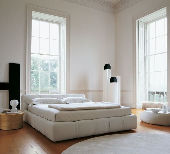 Betten TUFTY-BED - Kollektion B\B Italia - Design Patricia - modernes bett design trends 2012