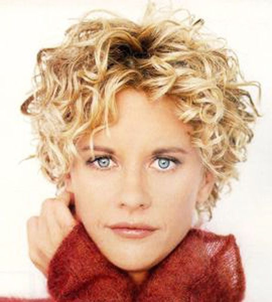 Meg Ryan New Short Curly Haircuts Short Curly Hairstyles For Women Curly Hair Styles