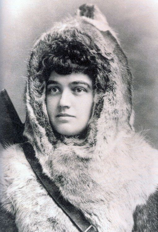Arctic explorer Josephine Peary published her memoir of her travels, My Arctic Journal, in 1893