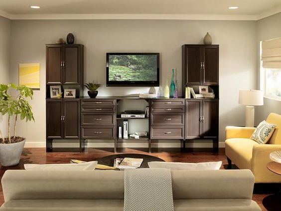 Create a media center for your living room with ClosetMaid's SuiteSymphony.
