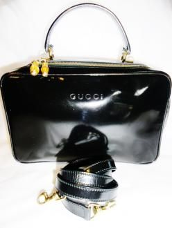 Don't miss out on this Gorgeous bag !! Gucci Black Lunch Box/crossbody Bag