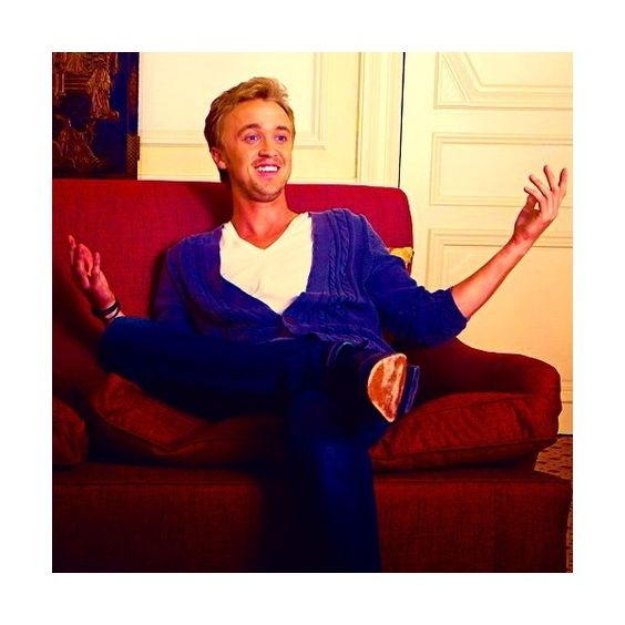 lolwut. tom felton is sexy. ❤ liked on Polyvore featuring tom felton