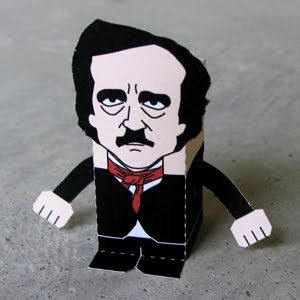 Edgar Allan Poe Foldable. Indispensable, I'm sure.
