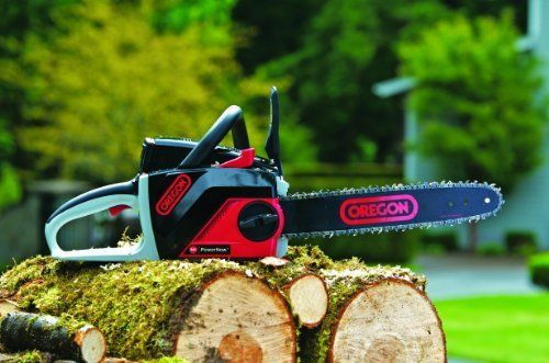 The Oregon 36v Cordless Electric Professional Self Sharpening Chainsaw Is An Excellent Chainsaw For Slicing Your L Chainsaw Electric Chainsaw Cordless Chainsaw