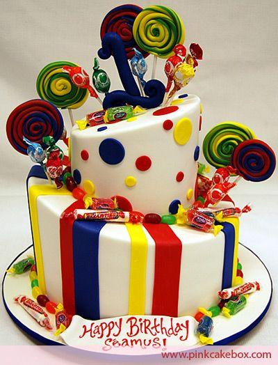 #Candy Land #Birthday #Cake