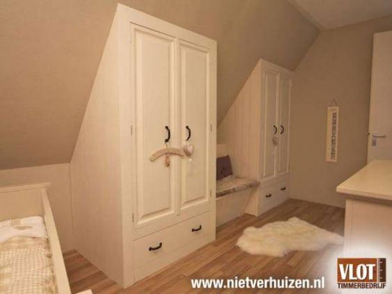 Badkamer Onder Schuine Wand: Zolder ideeen kinderkamer schuine wand ...