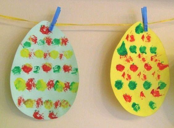 festett tojások gyerekekkel