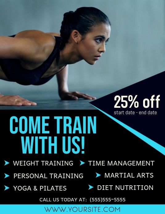 Gym Advertisement Gym Advertising Fitness Flyer Workout Posters