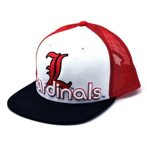 NCAA Louisville Cardinals Word Up Adjustable Snapback Cap, White, One Size by Top of the World. $9.66. Save 46%!