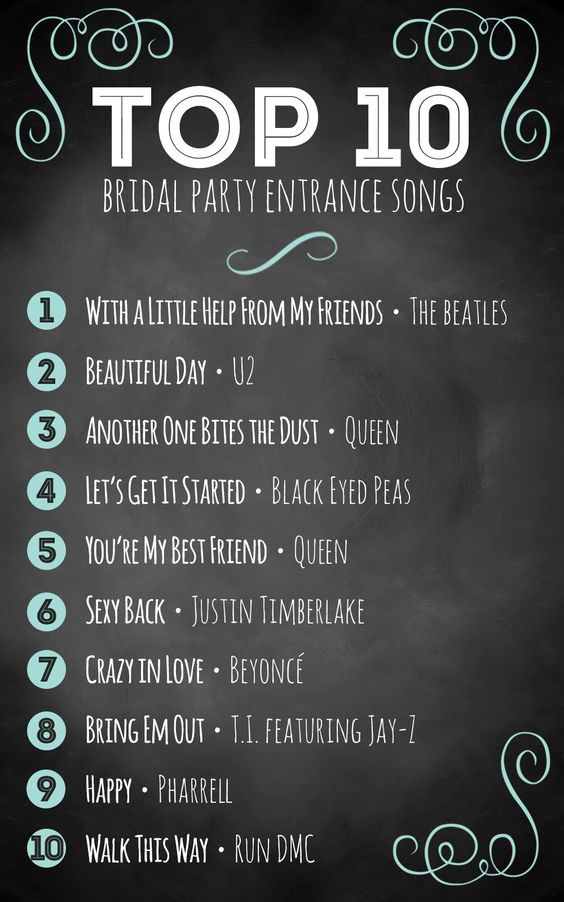 Whether you are going for an offbeat, classic, modern or vintage ceremony, you will need a stellar song for your grand bridal party entrance. Music makes a big difference during your nuptials, as it sets the pace and creates the mood you want. The song leading up to the big moment – when the bride walks down the aisle – is an important one. Like an introduction to a great speech, the bridal party song is a crucial pick for the flow of your ceremony.