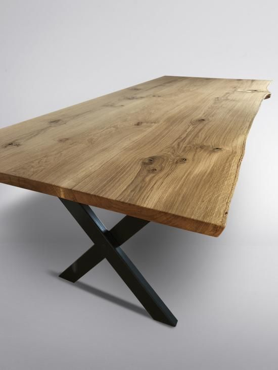 Kent Live Edge Table In 2019 Oak Dining
