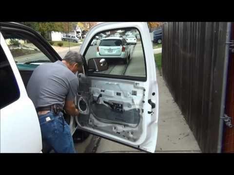 2000 Chevy Silverado Front Door Speaker Replacement Door Panel Removal Chevy Silverado 2000 Chevy Silverado Pickup Trucks
