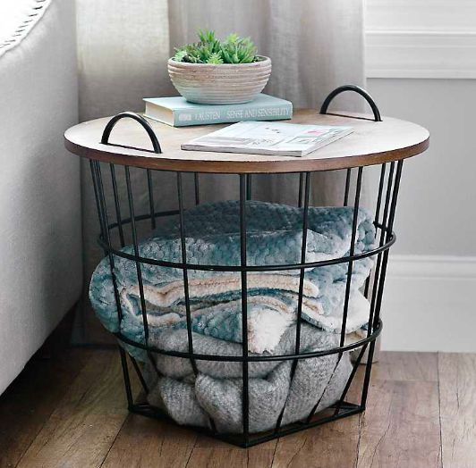 38+ Wire storage table with removable lid information