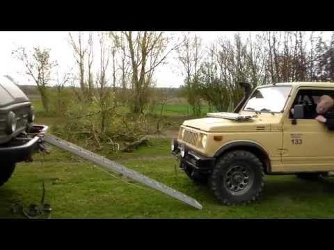 "2"" Trail Master. Suzuki SJ. Flex Like a Hummer - YouTube"